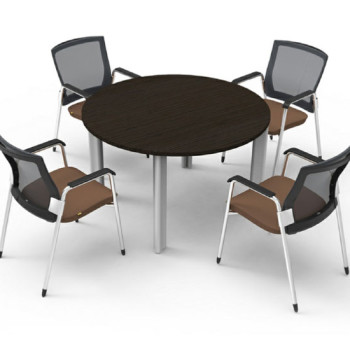 Round Table with Chairs