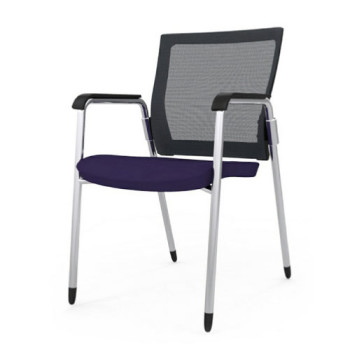 Office Chair (Stationary, Purple)