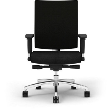 Office Chair (Wheels, Black)