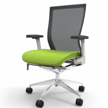 Office Chair (Wheels, Green)